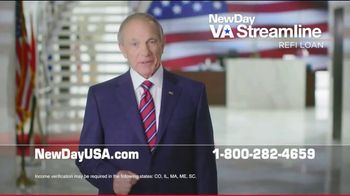 NewDay USA VA Streamline Refi Loan TV Spot, 'Money-Saving News' - Thumbnail 3