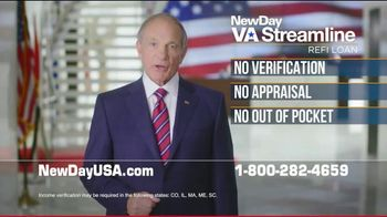 NewDay USA VA Streamline Refi Loan TV Spot, 'Money-Saving News' - Thumbnail 4