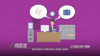 American Financing Digital Mortgage TV Spot, 'Life Happens' - Thumbnail 2
