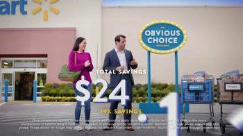Walmart TV Spot, 'Obvious Choice Challenge: Milk, Snickers and Grapes' - Thumbnail 8