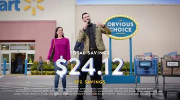 Walmart TV Spot, 'Obvious Choice Challenge: Milk, Snickers and Grapes' - Thumbnail 9