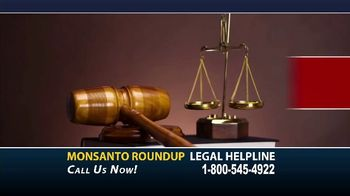 Dalimonte Rueb, LLP TV Spot, 'Monsanto Roundup Legal Helpline' - Thumbnail 1