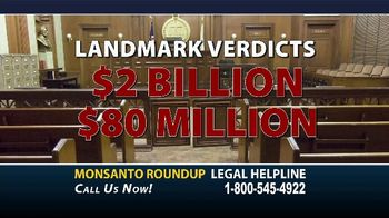 Dalimonte Rueb, LLP TV Spot, 'Monsanto Roundup Legal Helpline' - Thumbnail 3