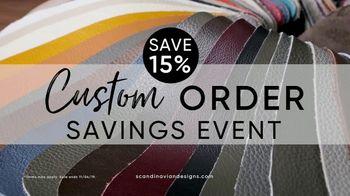 Scandinavian Designs Custom Order Savings Event TV Spot, 'Make It All Yours' - Thumbnail 2
