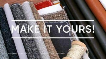 Scandinavian Designs Custom Order Savings Event TV Spot, 'Make It All Yours' - Thumbnail 6