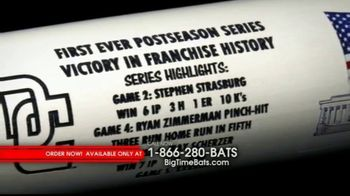 Big Time Bats TV Spot, 'Washington Nationals First Ever Postseason Series Victory Bat' - Thumbnail 1