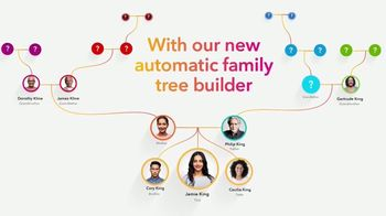 23andMe Ancestry +Traits TV Spot, 'Family Tree Builder' - Thumbnail 6