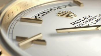 Rolex Day-Date 40 TV Spot, 'Perpetual' - Thumbnail 3
