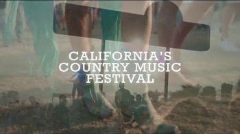 2020 Stagecoach Festival TV Spot, 'California's Country Music Festival' - Thumbnail 2