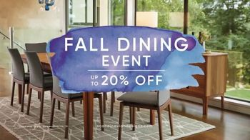 Scandinavian Designs Fall Dining Event TV Spot, 'Season of Entertaining'
