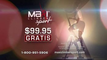 MaxiClimber Sport TV Spot, 'Ejercicio cardio guema grasa' [Spanish] - Thumbnail 5