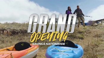 Gander Outdoors Grand Opening Sales Event TV Spot, 'Incredible Prices'