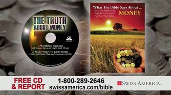 Swiss America TV Spot, 'Biblical References to Money' Featuring Pat Boone - Thumbnail 8