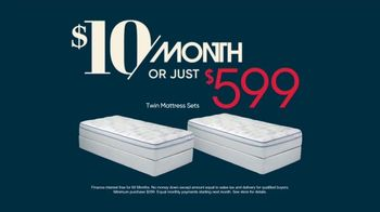 Rooms to Go TV Spot, 'Great Night's Sleep for a Great Price: $599 or $10 a Month' - Thumbnail 10