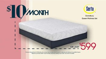 Rooms to Go TV Spot, 'Great Night's Sleep for a Great Price: $599 or $10 a Month' - Thumbnail 4
