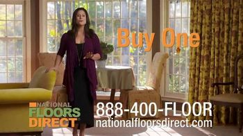 National Floors Direct TV Spot, 'Real Deal: Buy One Room, Get One Free' - Thumbnail 2
