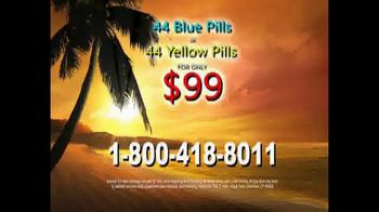 44 Blue Pills TV Spot, 'Less Than $3 Per Pill' - Thumbnail 7