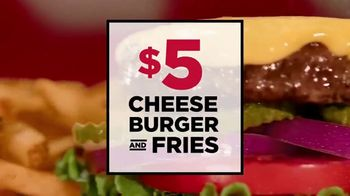 TGI Friday's $5 Cheeseburger and Fries TV Spot, 'Hungry for Unity' - Thumbnail 5