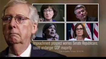 Need to Impeach TV Spot, 'Mitch McConnell Has a Big Problem' - 2 commercial airings