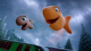 Goldfish Movie Maker TV Spot, 'Train Scene'