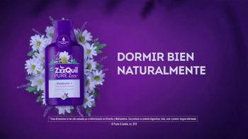 Vicks ZzzQuil Pure Zzzs Melatonin Liquid TV Spot, 'Un sueño tranquilo' [Spanish] - Thumbnail 6