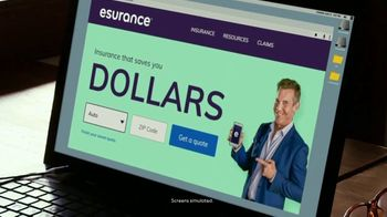 Esurance TV Spot, 'Dollars: Talking Lizard'