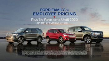 Ford TV Spot, 'Family of Employee Pricing' [T2]