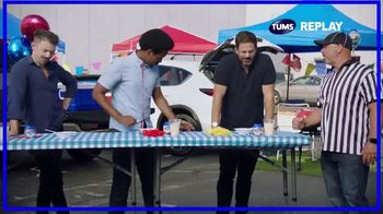 Tums Chewy Bites TV Spot, 'Super Spicy Tailgating Contest'