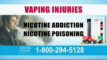 Davis & Crump, P.C. TV Spot, 'Vaping Injuries' - Thumbnail 4