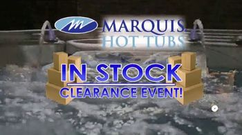 Marquis Hot Tubs In Stock Clearance Event TV Spot, 'All 2019 Models Must Go' - Thumbnail 3