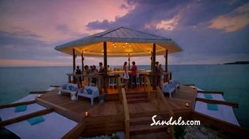 Sandals Resorts TV Spot, 'Somewhere in the Caribbean' - Thumbnail 7