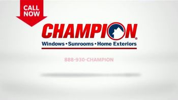 Champion Windows TV Spot, 'Sunrooms with Custom Options' - Thumbnail 7