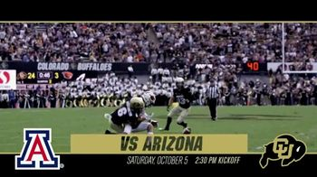 University of Colorado Football TV Spot, 'Arizona'