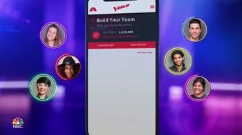 The Voice App TV Spot, 'Voice Fantasy Team'