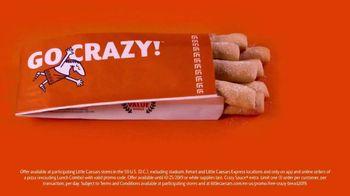 Little Caesars Pizza TV Spot, 'Free Crazy Bread' - Thumbnail 2