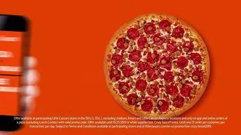 Little Caesars Pizza TV Spot, 'Free Crazy Bread' - Thumbnail 4