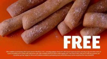 Little Caesars Pizza TV Spot, 'Free Crazy Bread' - Thumbnail 5