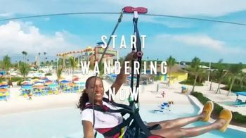 Royal Caribbean Cruise Lines TV Spot, 'Stop Wondering: 30 Percent' Song by Mapei