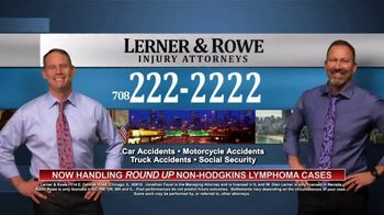 Lerner and Rowe Injury Attorneys TV Spot, 'Now Handling Roundup Cases' - Thumbnail 8