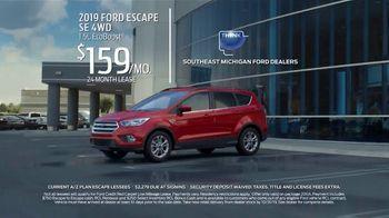 2019 Ford Escape TV Spot, 'Current A/Z Plan Lessees' [T2] - Thumbnail 2