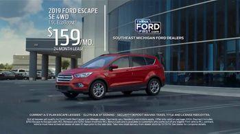 2019 Ford Escape TV Spot, 'Current A/Z Plan Lessees' [T2] - Thumbnail 3