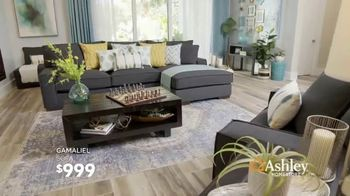 Ashley HomeStore Columbus Day Sale TV Spot, 'Final Week: 30 Percent & Sofa' Song by Midnight Riot - Thumbnail 8