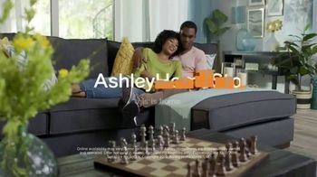 Ashley HomeStore Columbus Day Sale TV Spot, 'Final Week: 30 Percent & Sofa' Song by Midnight Riot - Thumbnail 9