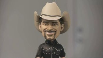 Nationwide Insurance TV Spot, 'Jingle Sessions: Bobbleheads' Featuring Peyton Manning, Brad Paisley
