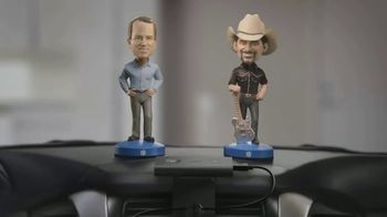Nationwide Insurance TV Spot, 'Jingle Sessions: Bobbleheads' Featuring Peyton Manning, Brad Paisley - Thumbnail 5