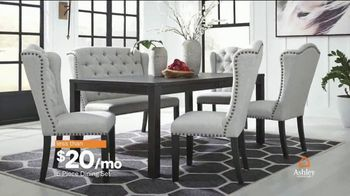 Ashley HomeStore Columbus Day Sale TV Spot, 'Mattresses, Dining Sets' Song by Midnight Riot - Thumbnail 6