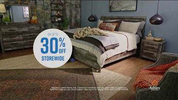 Ashley HomeStore Columbus Day Sale TV Spot, 'Mattresses, Dining Sets' Song by Midnight Riot - Thumbnail 7
