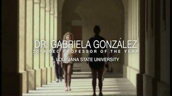 Southeastern Conference TV Spot, '2019 Professor of the Year' - Thumbnail 1