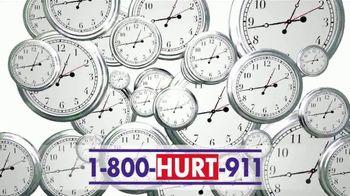 Hurt 911 TV Spot, 'Five Reasons to Call' - Thumbnail 5
