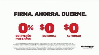 Mattress Firm La Gran Venta TV Spot, 'Firma, ahorra y duerme' [Spanish] - Thumbnail 5